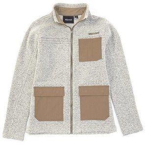 Nens Marmot Gilcrest Full Zip Wool Blend Jacket